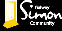 Galway Simon Logo White